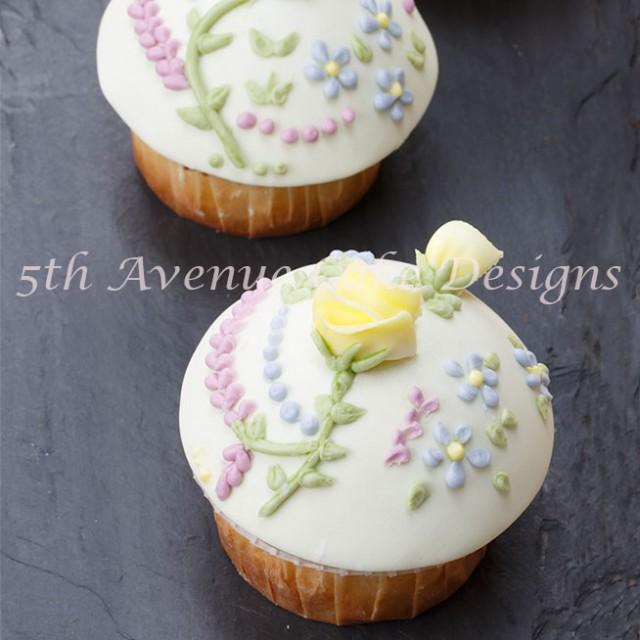 Rose-Vanilla Cupcake Recip