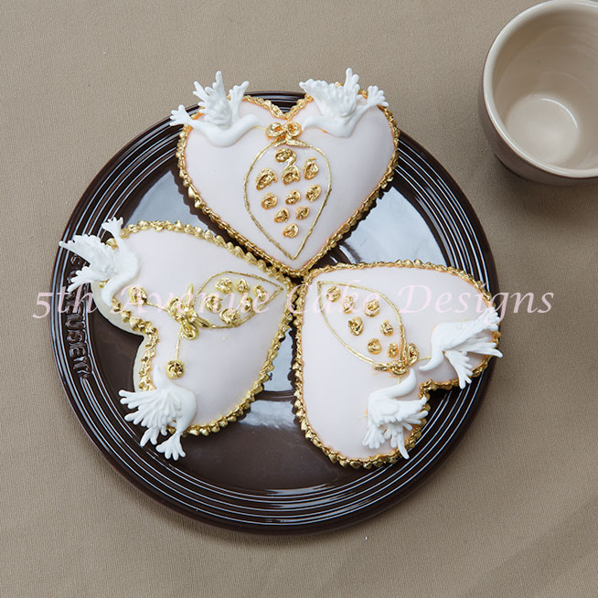 Autumn Wedding Cookies