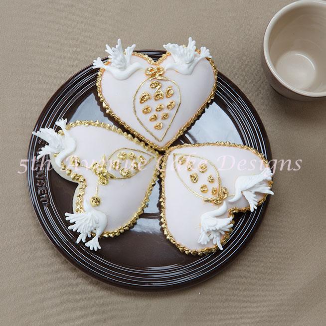 Autumn Wedding Cookies