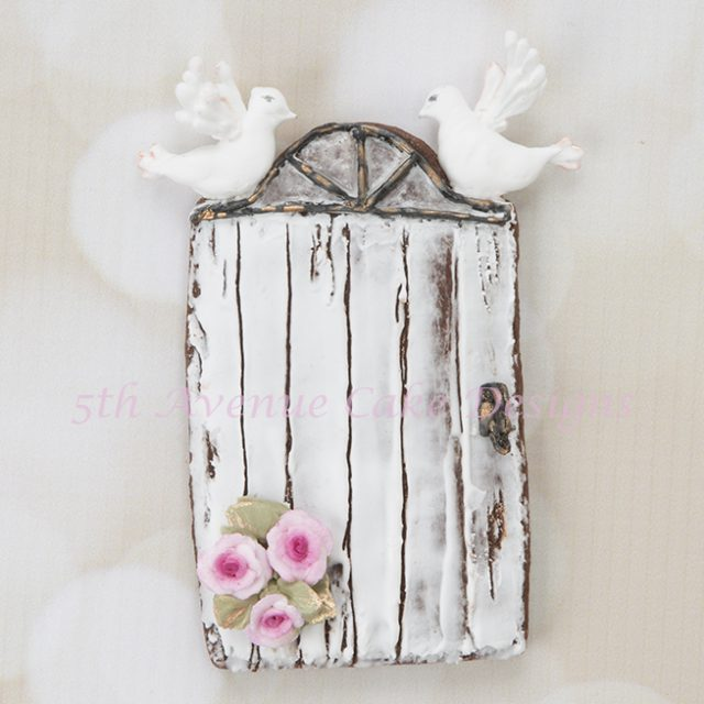 Rustic Door Cookie