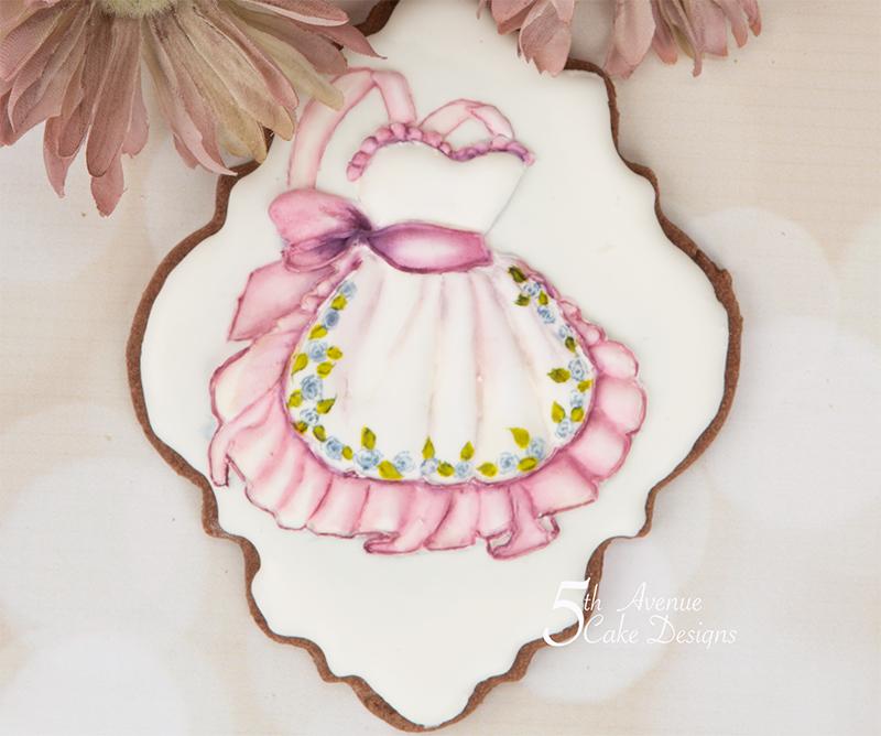 Vintage Dimensional Apron Cookie Art Course 🎨🖌️🎊