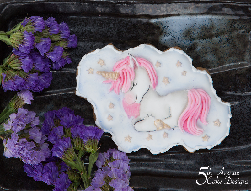 Enchanting Lullaby Unicorn Cookie Art Course 🦄👶👼🏽