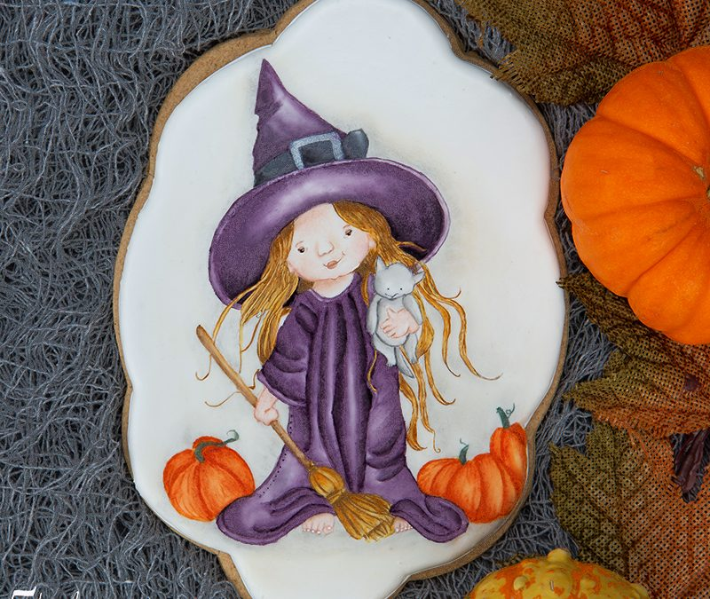 Witchy Fun Cookie Art Course 🎃🧙‍♀️🧹