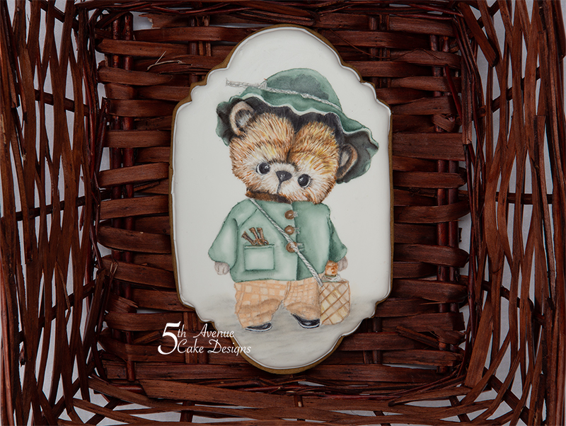 Adorable Teddy Bear Cookie Course