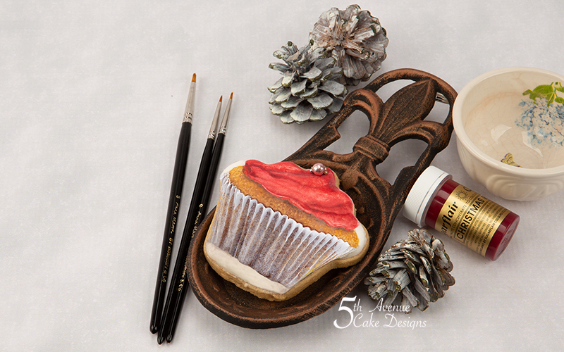 Scrumptious Cupcake Cookie Art Course ❄️🧁🔔